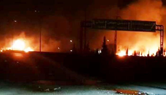 Siyonist İsrail'den Suriye'ye saldırı