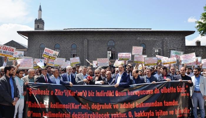 Fransa'daki Küstah Bildiriye Diyarbakır'da Sert Tepki
