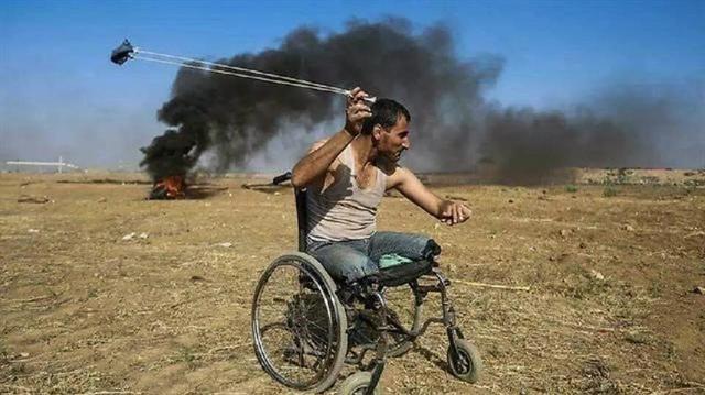 Tekerlekli Sandalyesiyle Direnen Gazi Şehid Oldu