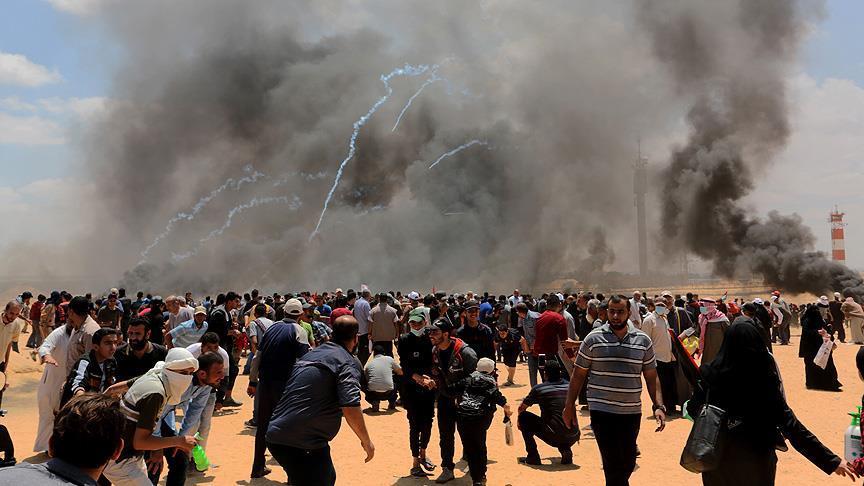 İsrail Katliam Yaptı! 52 Şehid