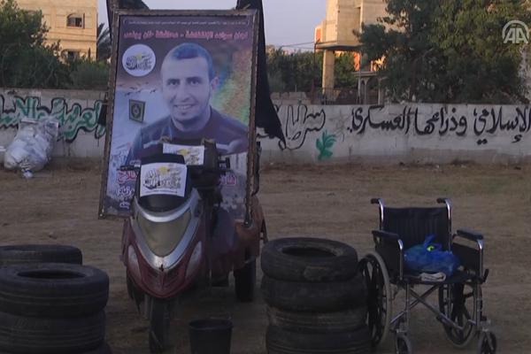 Tekerlekli Sandalyedeki Yiğit ! (Video)