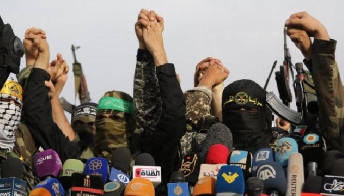 Filistin Direnişinden Ortak  Bildiri