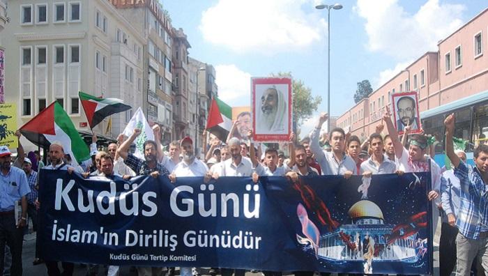 İstanbul'da Dünya Kudüs Günü Anılacak  (Eyleme Davet)