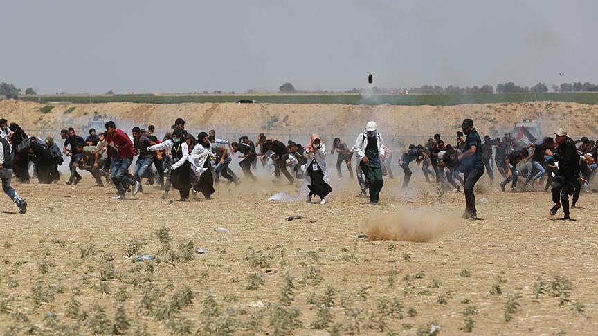 İsrail Gazze'de Katliam Yapıyor