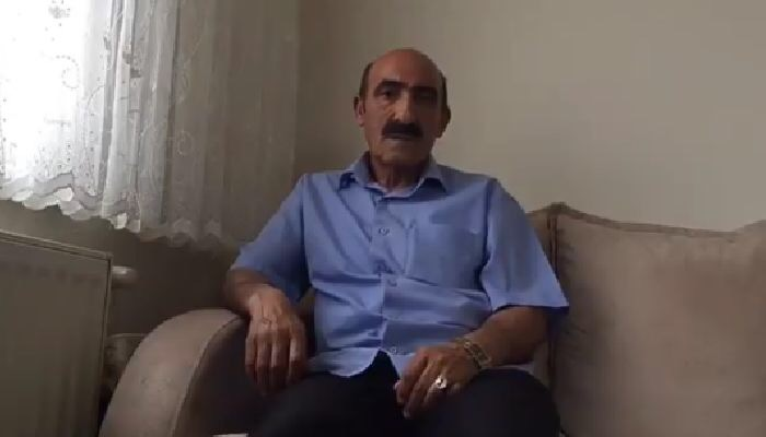 Siyonistler Tarafından Tutsak Edilen Ebu  Özkan'ın Babasından  Mesaj