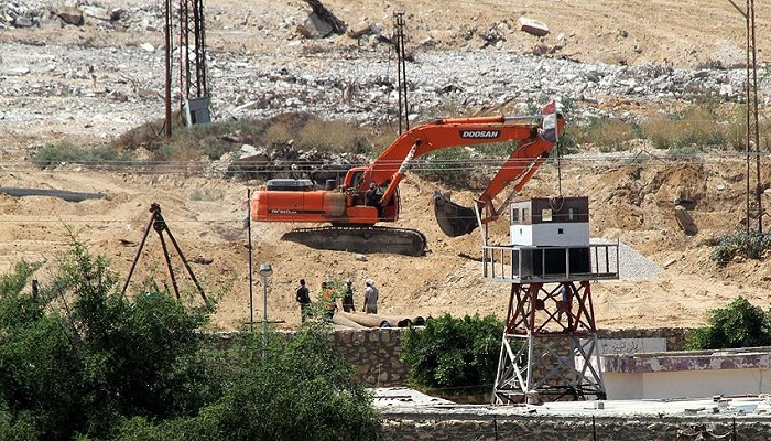 Mısır, Filistinlilerin  Tünellerini Yıkıyor