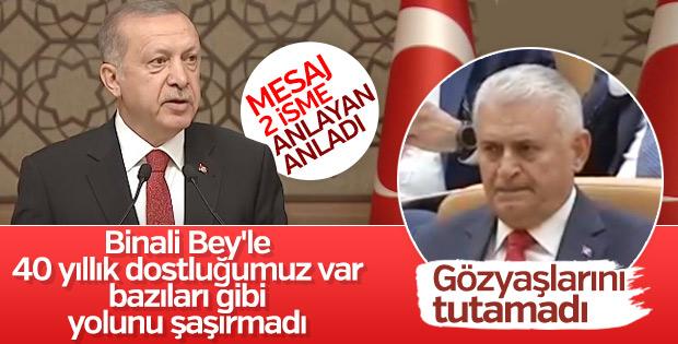 Başkan Erdoğan'dan  Üstü Kapalı Mesaj