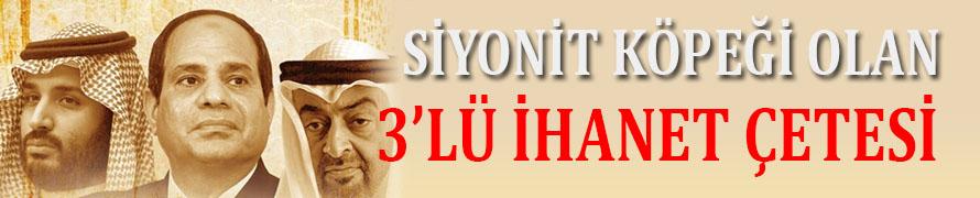 Siyonizmin Uşağı Olan 3 Devlet