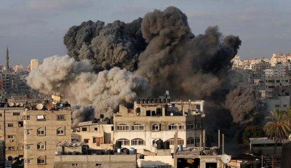 BAE Gazze'yi Bombaladı İddiası