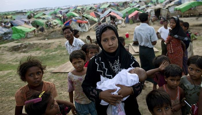 Myanmar Heyeti ile Arakanlı Müslümanlar Arasında Görüşme
