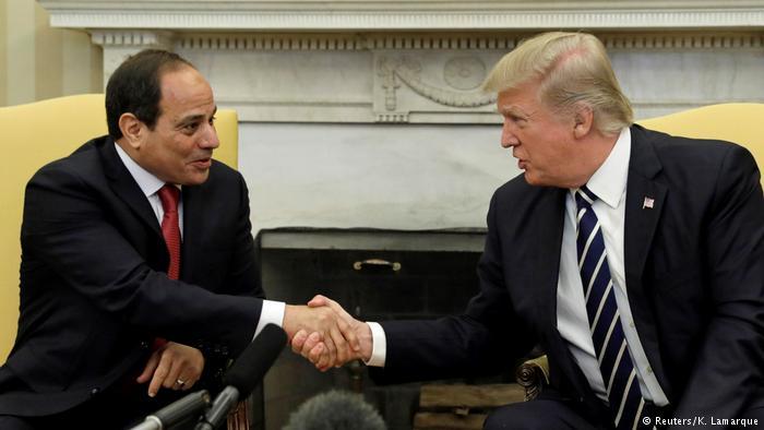 Trump'tan Sisi'ye: Lanet Olası Katil
