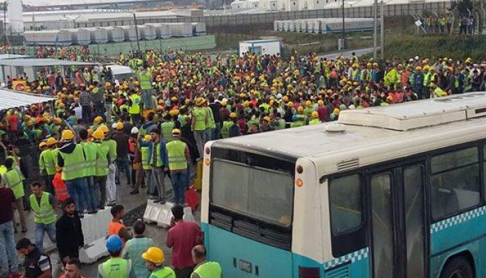3. Havalimanı işçileri Eylem Başlattı