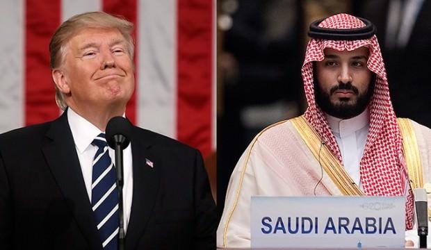 Prens Selman: Trump'a Rest Çekti