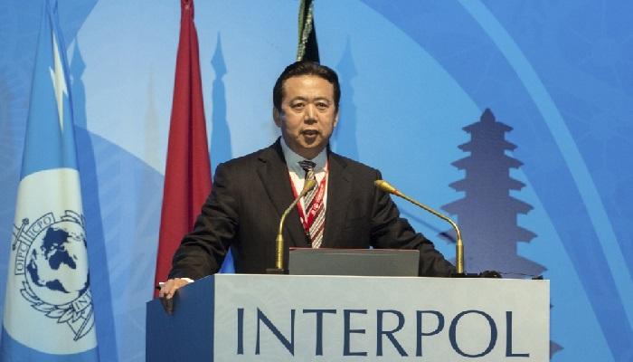 Interpol Başkanı Ortaya Çıktı