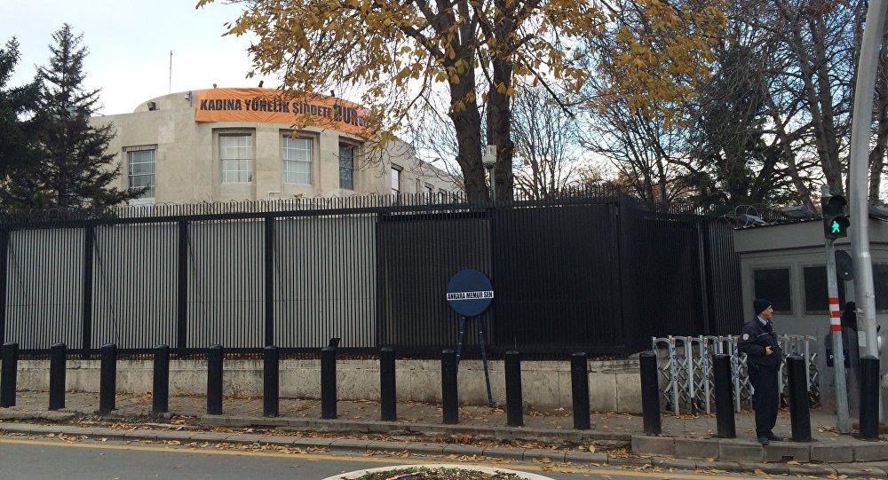 ABD Büyükelçiliğinin Bulunduğu Caddenin  İsmi Değişti