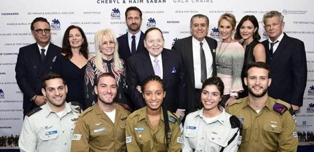 Hollywood'dan İsrail Ordusuna Yardım