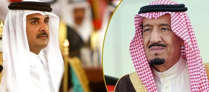 Kral Selman'dan Katar'a Davet
