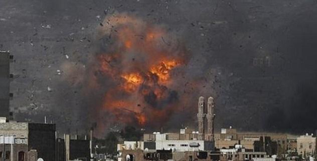 Suud Yemen'i Bombalamaya Devam Ediyor
