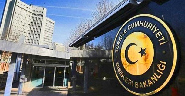 Dışişleri'nden DSG ile ABD'nin Anlaşmasına Tepki