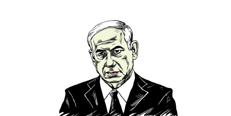 Katil  Netanyahu  Ve Karısı Ağlama Duvarında