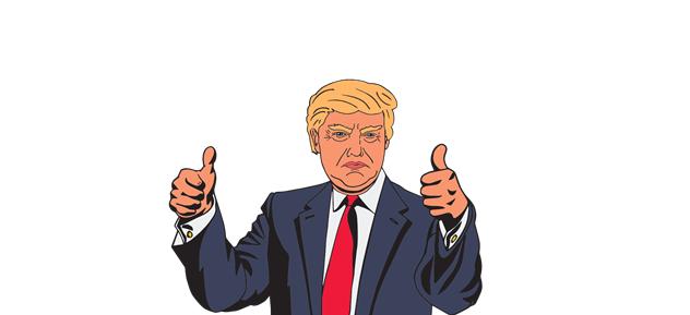 Trump Katar Emiri'ne Teşekkür Etti