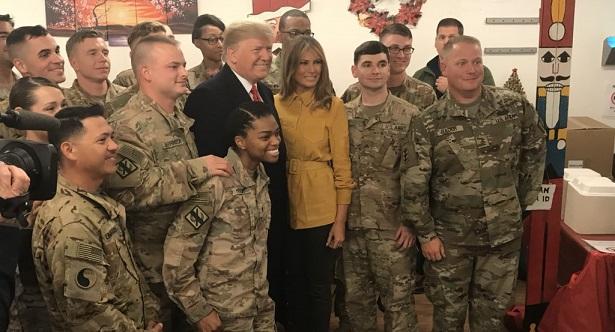 Trump'ın Sürpriz Irak Ziyareti