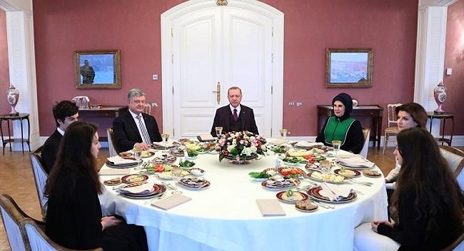 Erdoğan Poroşenko Görüşmesi