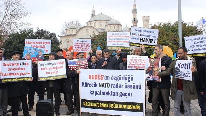 Malatya'da NATO Eylemi(FOTO)