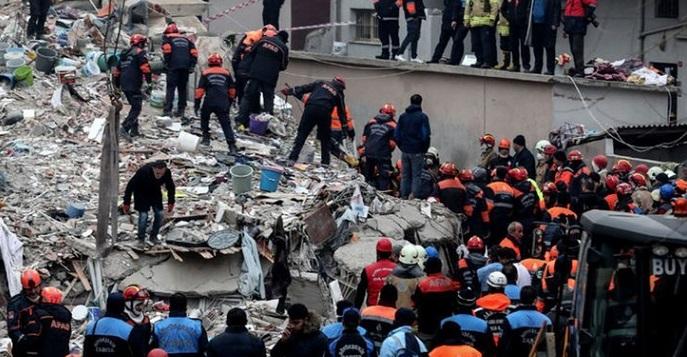 Kartal'da Çöken Bina; Valilik'ten Açıklama