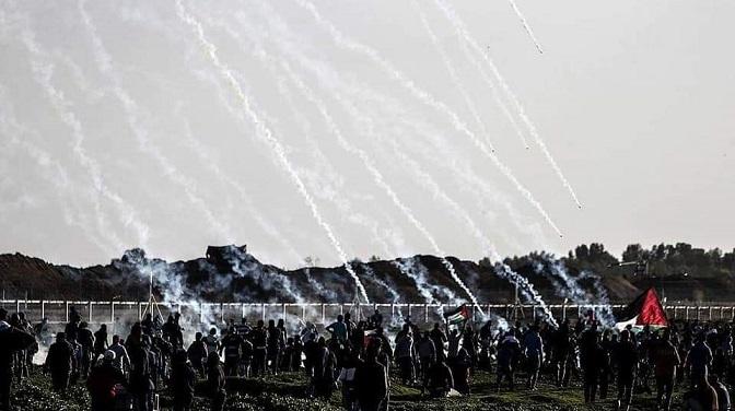 Gazze Şehidlerini Uğurladı