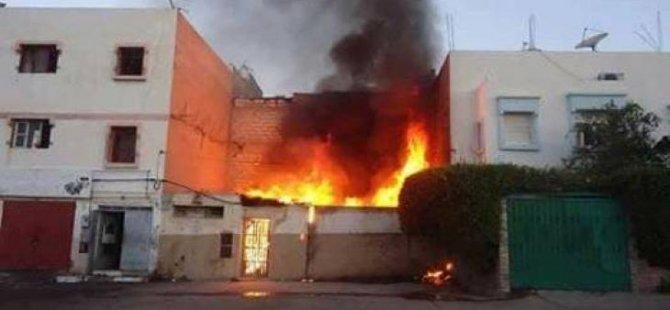 Gazze'de Yangın Faciası