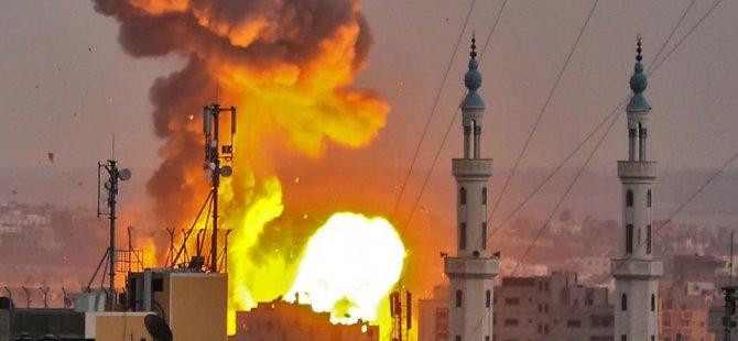 İsrail Gazze'yi Vurmaya Devam Ediyor
