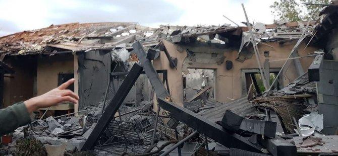 Tel Aviv'in Kuzeyine İki Füze Düştü