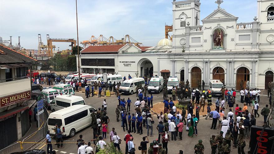 Sri Lanka'da  Terör Saldırıları