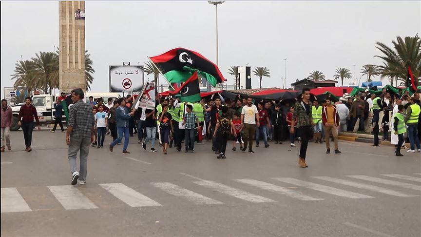 Sarı Yelekliler Libya'da Ortaya Çıktı