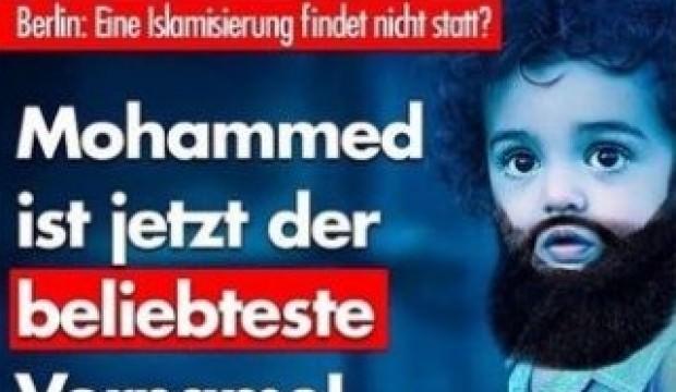 Almanlar Muhammed İsminden   Rahatsız Oldu !
