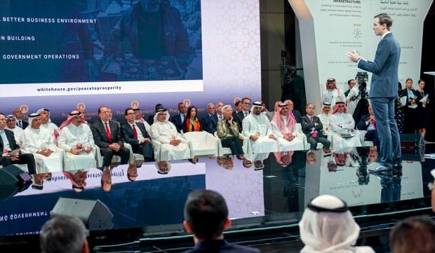 Kushner Sunum Yaptı İşbirlikci Arap Liderler Dinledi !