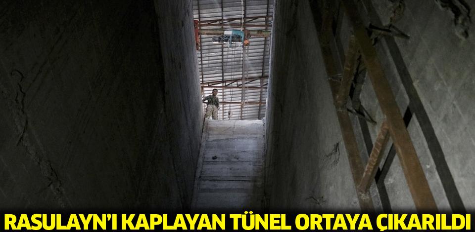 Rasulayn'ıKaplayan Tünel Ortaya Çıkarıldı