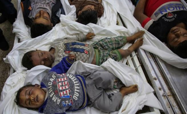 İsrail 8 kişilik Aileyi Şehit Etti