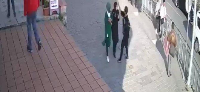 """""""Başörtülü Öğrencilere Saldıran Provokatör Gözaltına Alındı"""""""