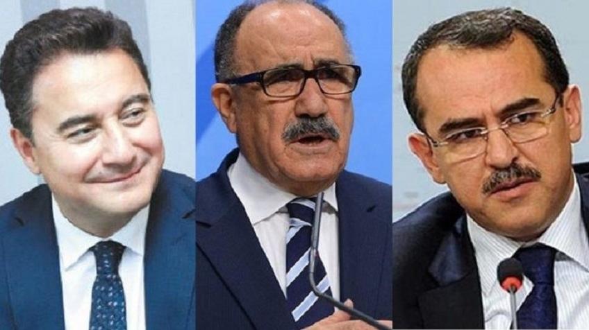 Erdoğan'dan Ali Babacan, Beşir Atalay ve Sadullah Ergin Kararı