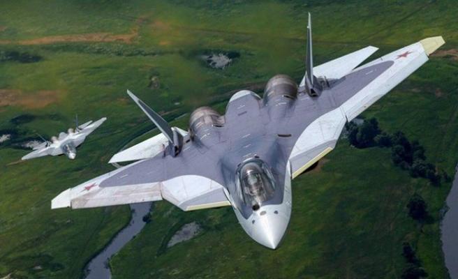 Rusya'da Su-57 Uçağı Düştü
