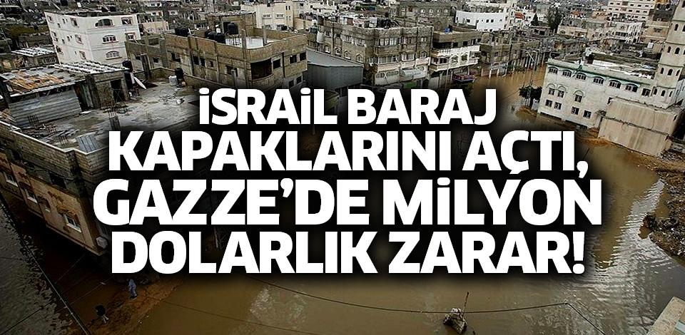 Gazze Sular Altında Kaldı