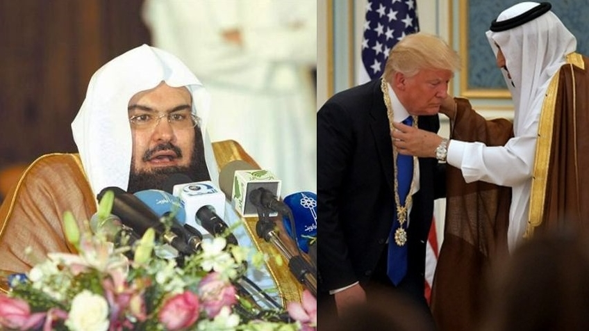 Trump'a Dua Eden Kabe İmamı'na 'Ödül'!