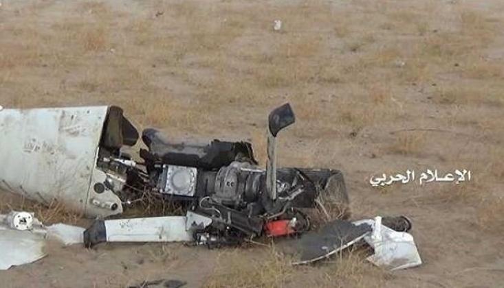 Suudi Koalisyonuna Ait Casus Uçağı Düşürüldü