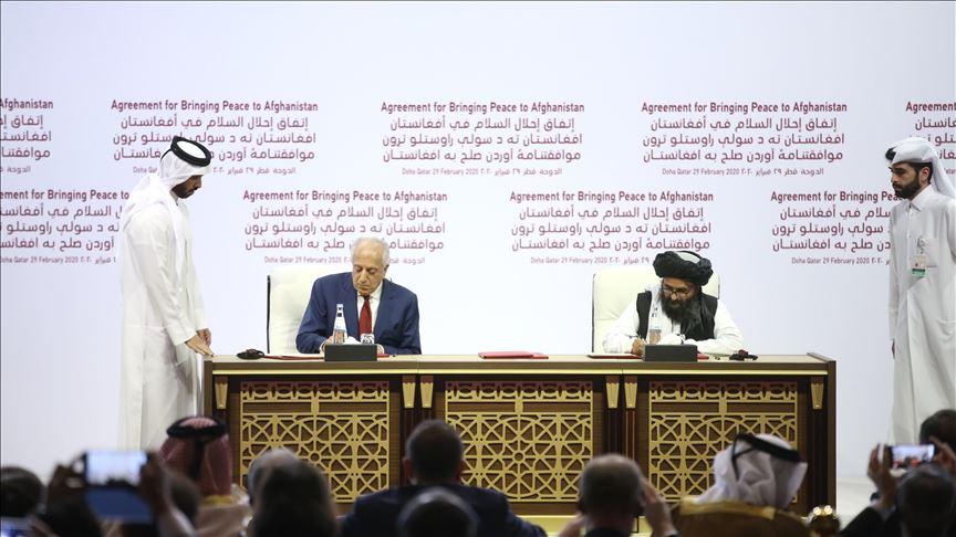 Afganistan  Hükümeti Ve Taliban Masaya Oturuyor