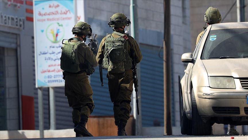 İşgal Ordusu Gazze Sınırına Askeri Yol  Açıyor