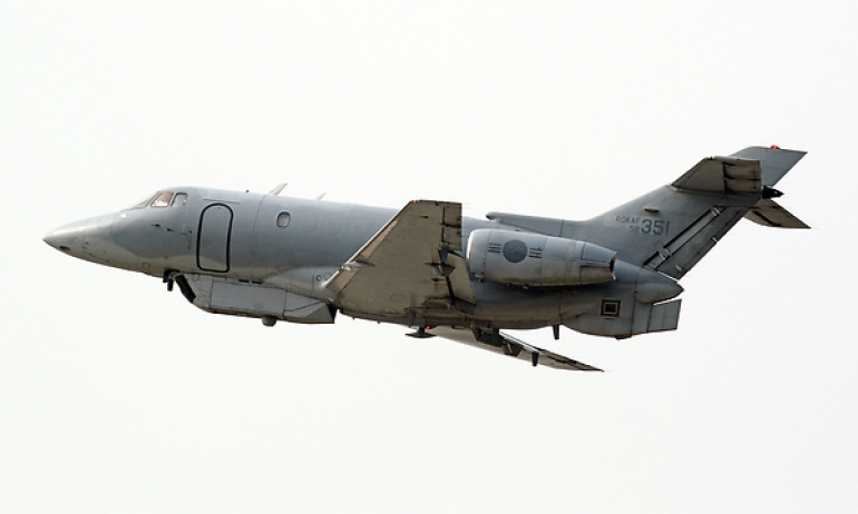 ABD Uçağı Düştü