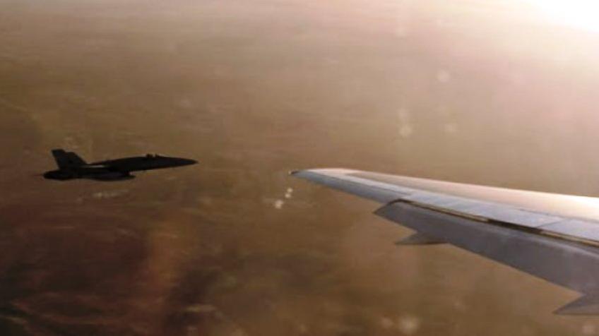 ABD'den  iran'a Ait Yolcu Uçağına Taciz