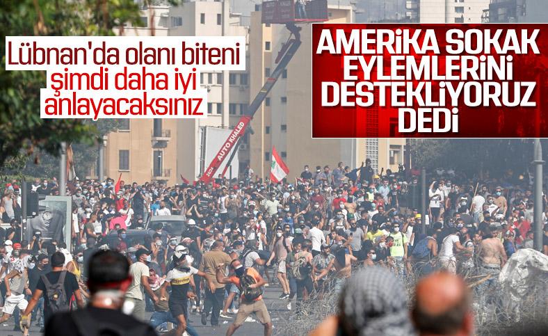 ABD: Gösterileri Destekliyoruz